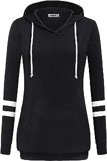 Long Sleeve Shirt Lightweight Pullover Sweatshirt Hoodie with Kangaroo Pocket