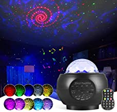 Star Projector, OUTAD Night Light Projector with 27 Modes of Galaxy, Nebula and Ocean Waves, Timing Function and Built-in ...
