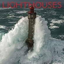 Graphique Lighthouses Wall Calendar - 16-Month 2020 Calendar, 12