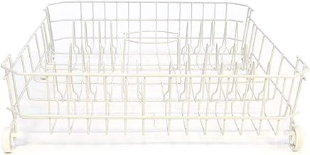 GE WD28X10284 Genuine OEM Lower Dishrack Assembly (White) for GE Dishwashers