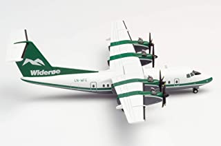 herpa 570565 Wideroe De Havilland Canada DHC-7 Miniature Craft Collection and Gift