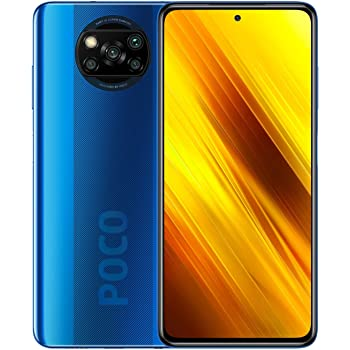 "POCO X3 NFC - Smartphone 6 + 128GB, 6.67"" FHD+ cámara frontal con Punch-hole Display, Snapdragon 732G, 64 MP con IA, Quad-cámara, 5160 mAh, color Azul Cobalto (versión Española + 2 años garantía)"
