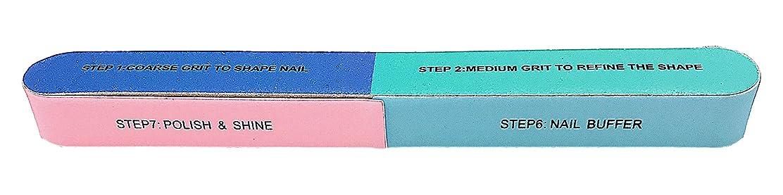 スケート医薬品単調な爪ヤスリ ネイルケアに 7粗い面から細かい面までが1本に 自宅でも 旅先でも 携帯に便利