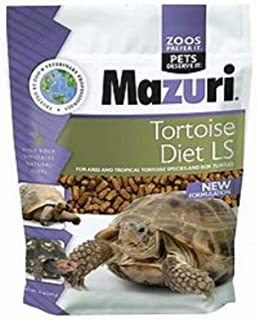 "Mazuri Tortoise, Box Turtle, All Land Turtles 3/16' x 3/8"" Pellets (in Bulk Packing)"