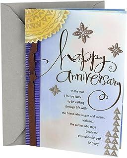 Hallmark Anniversary Card for Husband or Boyfriend (Man I Love)