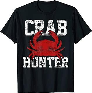 Crab Hunter T-Shirt Crab Tee Brabs Lover Gift Vintage
