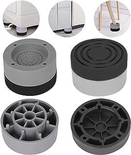 Coussinets de Machine à Laver Upkey 4 Pièces Tapis Anti-Vibration pour Sèche-Linge Universel Machine à Laver Pieds pour Ma...
