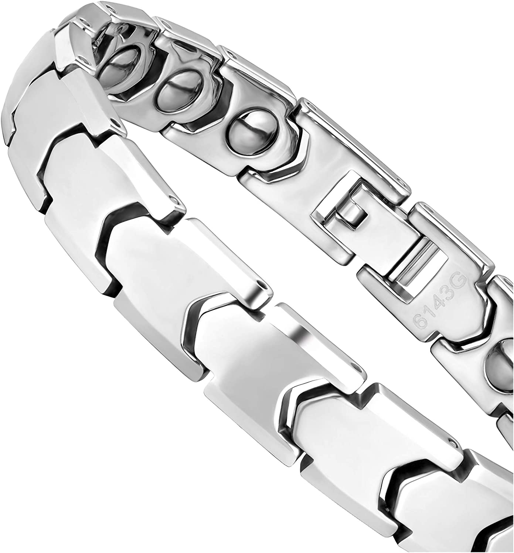 Jacksonville Mall Dapper Men's Bracelet – Interlocking Track a Link Poli Ranking TOP14 in Design