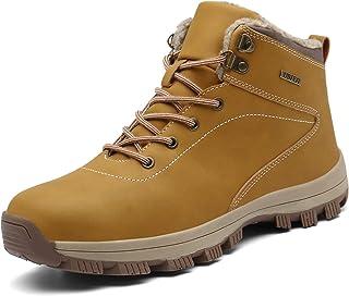 UBFEN Botas de Senderismo para Hombre Mujer Botas de Nieve Invierno Impermeable Calzado Zapatos de Ocio al Aire Libre y De...