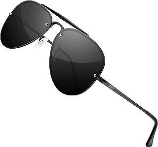 ATTCL Unisex Mirrored UV400 Polarized Sunglasses for Men...
