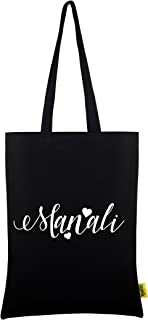 Manali Name Printed Personalized Tote Bag Durable 100% Cotton Tote Bag, Best Gift For Manali