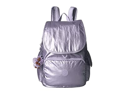 Kipling Citypack Backpack (Frosted Lilac Metallic) Backpack Bags