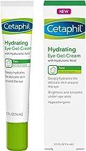 ژل کرم چشم Cetaphil با اسید هیالورونیک - طراحی شده به عمیق هیدرات، روشن و صاف در زیر چشم - منطقه مورد نظر - برای انواع مختلف پوست - Hypoallergenic و مناسب برای پوست حساس - 0.5 Fl. اوز