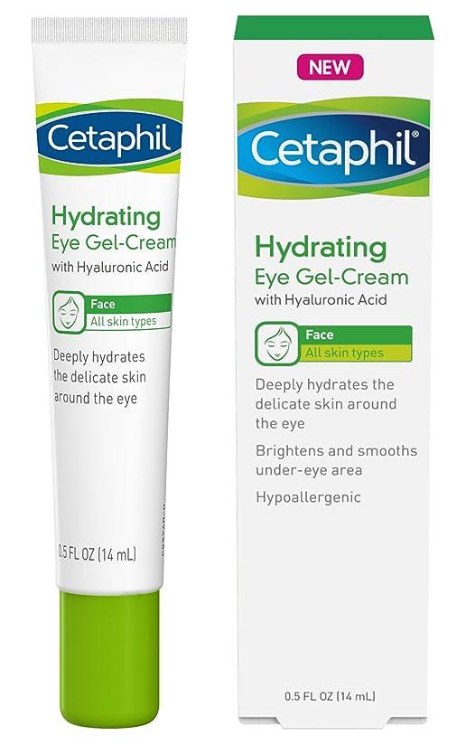 オペレーターマカダム階段Cetaphil ヒアルロン酸とアイジェルクリームを水和 - 設計さに深く水和物、ブライトン&アンダーアイエリアスムーズ - オールスキンタイプ - 低刺激性&敏感肌に適し - 0.5フロリダ。オズ