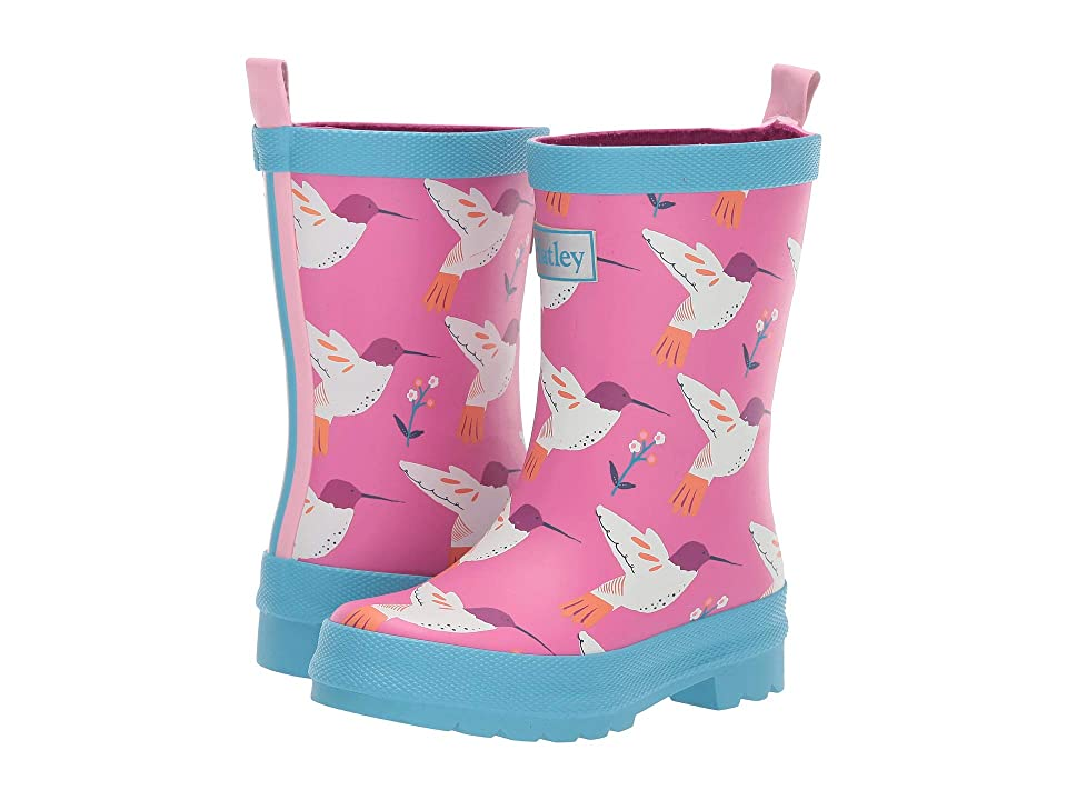 Hatley Kids Limited Edition Rain Boots (Toddler/Little Kid) (Graceful Humming Birds) Girls Shoes