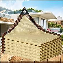 LIXIONG Sunblock schaduwdoek, crèmekleur Anti-UV Cool Down Anti-aging Polyethyleen voor landbouwgordijn balkon zonnekamer,...