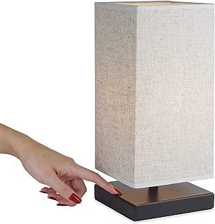 "Revel/Kira Home Lucerna 13"" Touch Bedside LED Table Lamp, Energy Efficient,.."