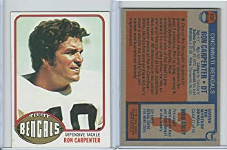 1976 Topps Football, 432 Ron Carpenter, Cincinnati Bengals