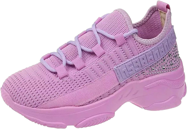 Hemlock Women Sports Shoes Lace Up Sneakers Mesh Lightweight Walking Running Shoes Breathable Sneaker