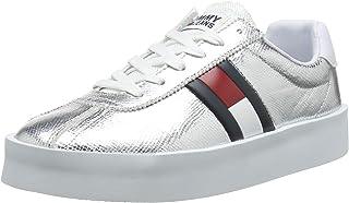 699681c5719 Tommy Jeans Metallic Retro Light Sneaker, Zapatillas para Mujer