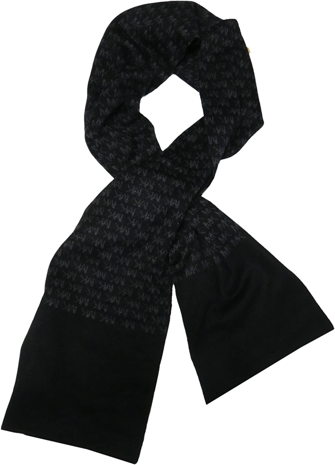 Michael Kors Men's Repeat Logo New sold out Shipping Free Black Jacquard Scarf