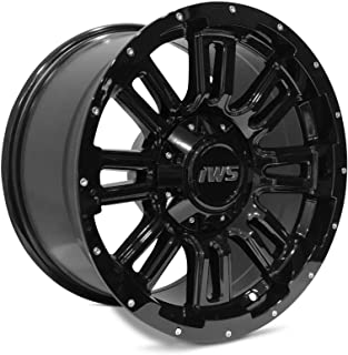 Partsynergy Replacement For New 17 Inch Black Wheel Rim 6x135 6x139.7mm Fits Ford Chevy GMC Toyota
