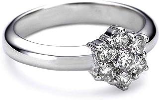 Esprit Esrg91485A170 Silver Ring Size O