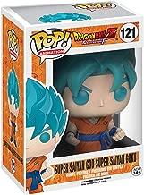 Funko Pop Dragon Ball Z: Super Saiyan God Super Saiyan Goku Collectible Figure, Multicolor