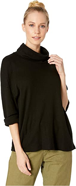 Baby Thermal Long Sleeve Cowl Neck Swing Top