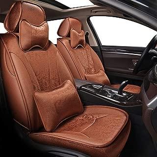 Coprisedili Anteriori Neri MERIVA Versione con Fori per i poggiatesta e bracciolo Laterale compatibili con sedili con airbag 2003-2010