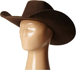 Twister Wool Cowboy Hat w/ Flat Bow (Little Kids/Big Kids)