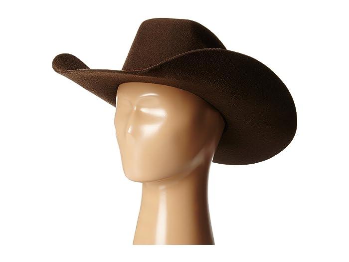 M F Western Twister Wool Cowboy Hat W Flat Bow Little Kids Big Kids