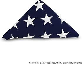 casket size american flag