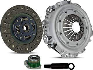Clutch Kit With Slave Works With Saab 9-3 900 Se Base S Hatchback Convertible 1998-2002 2.0L 1985CC l4 GAS DOHC Turbocharged