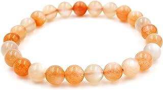 Fukugems bracciale pietra naturale donne uomo 6mm/8mm braccialetto for yoga guarigione