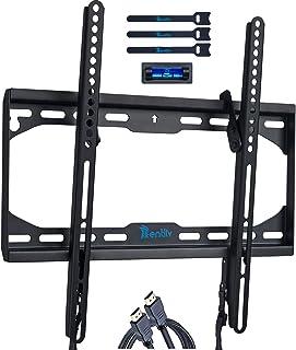 RENTLIV テレビ壁掛け金具 軽量・薄型 角度調整可能 23-55インチのLCD /LED/OLEDなどの高精細度液晶テレビ対応 プラズマフラット 曲面スクリーン 最大VESA規格400x400mm対応 最大耐荷重45kg テレビ壁掛けスタンド