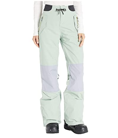 Burton Loyle Pants (Aqua Gray/Lilac Gray/Timber Wolf) Women