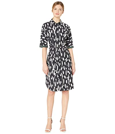 Lysse Rubia Dress in Printed Microfiber (London Dash Black) Women