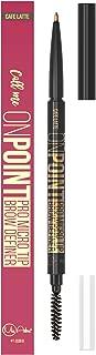 Best MICRO TIP Brow Definer Pencil - Waterproof & Smudgeproof ALL DAY WEAR - Cruelty FREE - Ultra Fine EXTRA Precision - Retractable Eyebrow Pencil - No Sharpener Needed - Brown (Medium Brown)