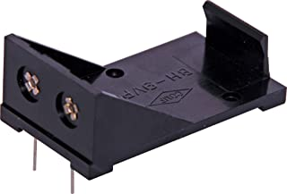 BH9VPC 9V PCB Battery Holder Resistant to Solvents 30 x 20.7 x 54.5mm Resistant to Solvents, Holder: Black High Impact Abs