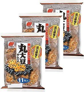 三幸製菓 丸大豆せんべい 11枚×3袋
