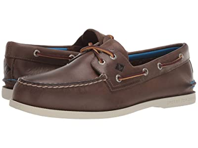 Sperry A/O 2-Eye Plush (Brown) Men