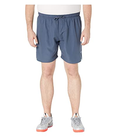 Nike Big Tall 7 Solid Vital Volley Shorts (Monsoon Blue) Men