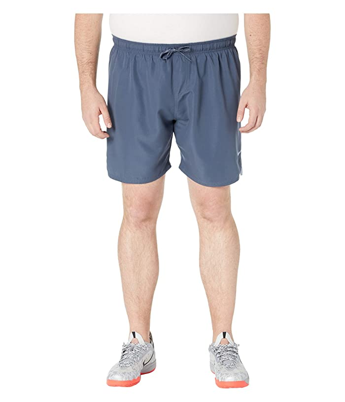 Nike Big Tall 7 Solid Vital Volley Shorts (Monsoon Blue) Men