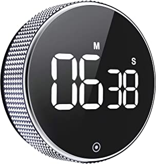Kitchen Timer, OVEKI Magnetic Countdown Digital Timer,One Button Operation for Teacher kids and Elderly,for classroom home work fitness