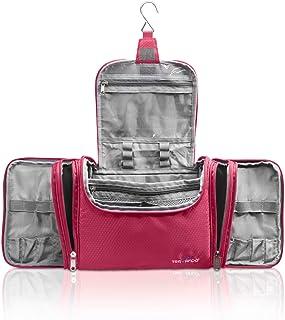 "TRAVANDO XXL Toiletry Bag for Women ""MAXI"" with Hanging Hook - Large Wash Bag - Many Pockets - Travel Set, Super-Size Trav..."