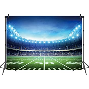 10x6.5ft Football Team Flag Banner Sport Fans Backdrop Photography Studio Props Adults Children Photo Background DSFU233