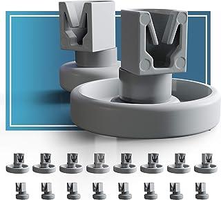 comprar comparacion Ruedas lavavajillas de Plemont® cesta inferior/ cesto superior ruedas de lavavajillas para muchos comunes lavavajillas d...