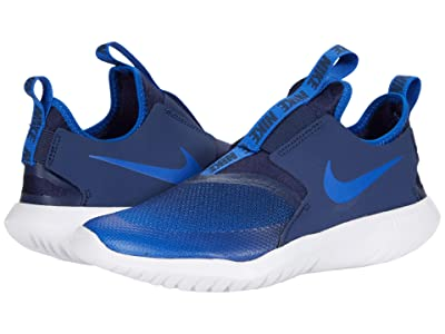 Nike Kids Flex Runner (Big Kid) (Game Royal/Game Royal/Midnight Navy) Kids Shoes