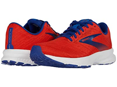 Brooks Launch 7 (Cherry/Red/Mazarine) Men